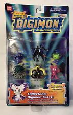 Bandai Digimon Season 3 Collectable Set 31 Mini Figure Set BRAND NEW MIB