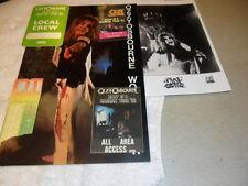 OZZY OSBOURNE  RANDY RHOADS DIARY OF A MADMAN TOUR BOOK PROGRAM TICKET PASS'S