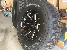 """MOTO METAL MO982 17"""" WHEELS AND TYRES FORD RANGER L200 DMAX HILUX"""