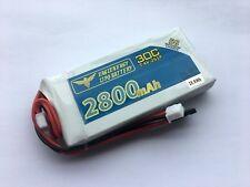 FrSky QX7 Taranis 2800mAh 7.4V Transmitter LiPo Battery Upgraded Repl NIMH 7.2V