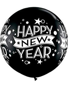 """Latex 11"""" and 30"""" New Yearand Xmas Balloons Multiple Colours Special Price"""