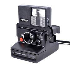 Polaroid 1000S Instant Camera with Porst SX Flash