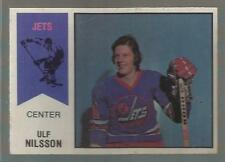 1974-75 OPC WHA #4 Ulf Nilsson RC Jets NM LOOKS PACK FRESH