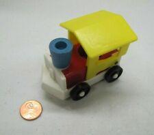 Vintage Fisher Price Little People ZOO TRAIN ENGINE for Amusement Park Choo Choo