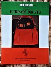 1978 Ferrari 308 GTS Road Test Brochure Folder Excellent Original 78
