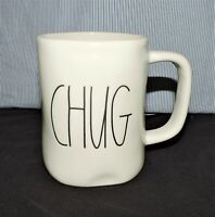 "NEW RAE DUNN by Magenta ""CHUG"" Coffee Tea Mug Farmhouse Spring Home Decor"