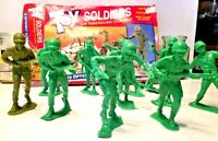 Toy Soldiers An American Classic 11 Plastic 5 inches tall WWII GIs