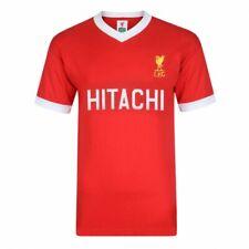 Liverpool FC Retro 1978 Hitachi lejos Rojo Jersey Tamaños Disponibles Sm-XXL