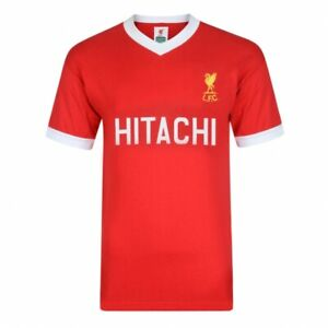 Liverpool FC Retro 1978 Hitachi  Away Red Jersey Sizes Available  Sm-XXL