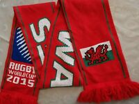 superbe echarpe de rugby PAYS DE GALLES  top qualité IRB 2015 world cup WALES