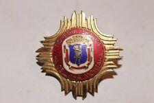 Honorary Badge Municipality Montana Bulgaria