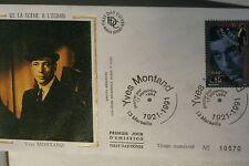 ENVELOPPE PREMIER JOUR SOIE - 1994 YVES MONTAND