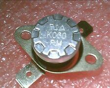Thermostat:KSD301-K060 60ºC : 140ºF : N.O. NO:Temperature:BiMetal Switch