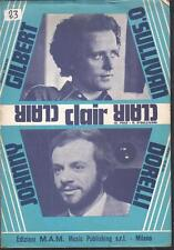 DORELLI + O'SULLIVAN Clair 1972 Raro Foto Spartiti Sheet Music >