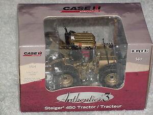 ERTL 1/64 AUTHENTICS #3 GOLD CASE IH STEIGER 450 TRACTOR 4WD CHASE UNIT