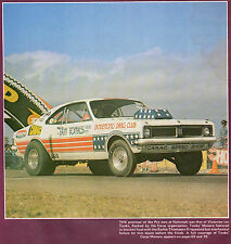 AUSTRALIAN DRAG RACING DVD all the top racers Great 70's music FREE SHIPPING