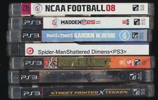 Lot of 7 PS3 Games Madden 25 NCAA Boarderlands2 Plants Vs Zombies Crysis2 Street