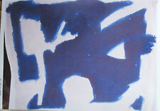 """STUDY IN BLUE - PRINT ON PAPER -13""""x19""""- GREAT GIFT!"""