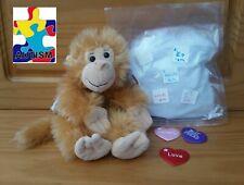 "Monkey ""Cheeky"" Build A Buddy Stuffed Animal Teddy Mountain"