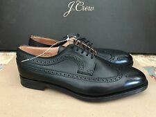 ALFRED SARGENT FOR JCREW AMERICAN BROGUES SHOES SIZE 11M BLACK 02800 $535