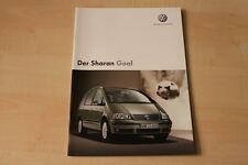 68407) VW Sharan Goal Prospekt 05/2005