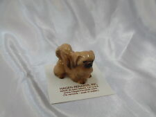 Hagen Renaker Dog Pekingese Figurine Miniature 3103 FREE SHIP NEW Light Brown