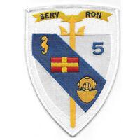 Navy Service Squadron Five Patch