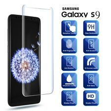 5D Tempered Glass Screen Protector For Samsung Galaxy S9 Clear [Case Friendly]