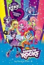 Equestria Girls: Rainbow Rocks by Perdita Finn (2014, Hardcover)