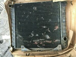 Rover 3500S US NADA  Original Radiator with Integral Oil Cooler