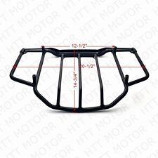 Air Wing Tour Pak Luggage Rack Rail Flat Black For Harley Touring FLHT FLHX FLHR