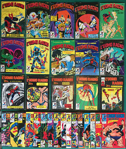 31X L' UOMO RAGNO Star Comics 1987 con BOLLINI N° 1 2 5 6 8 10 11 12 13 15 1988