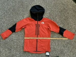 BNWT The North Face Men's MD Futurelight Jacket L5 Summit Series Flare Red Black