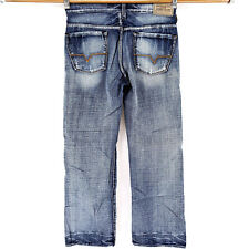 🔥 GUESS CLIFF BOOT CUT 30x30 Blue Jeans Premium Denim Modern Distressed Look