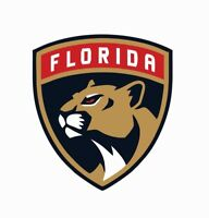 Florida Panthers NHL Hockey Full Color Logo Sports Decal Sticker-Free Shipping