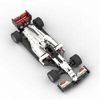 TECHNIC HASS VF20 USA F1 car 2020 Championship Auto brick Block moc BUILDING