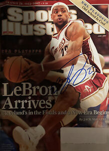 Lebron James Autographed Signed Sports Illustrated Magazine Cover 2007