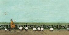 Sam Toft - Moses Follows That Picnic Basket - 50 x100cm Canvas Print Wall Art