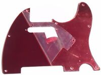 NEW PICKGUARD TELECASTER red mirror pour guitare télé