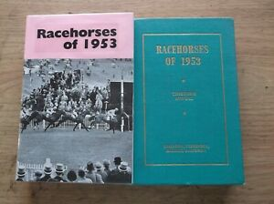 """TIMEFORM """"RACEHORSES OF 1953""""  MINT IN A MADE UP DUST JACKET"""