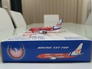 PHOENIX 1/400 VIRGIN BLUE Boeing 737-700 VH-VBH Diecast - RARE
