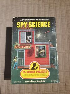 Adventures in Science Spy Science Educational Insights New vintage 1990 projects
