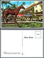 FLORIDA Postcard - Hialeah Race Course, Bronze Statue of Citation Q44