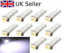 10 x T5 286 5050 SMD LED Car Wedge Speedo Dashboard Side Light Lamp Bulb DC 12V