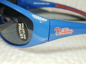 MLB Philadelphia Phillies Wrap Sunglasses official MLB UV400 Blue Red