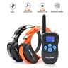 Petrainer Rechargeable Dog Training Shock Collar Two Remote Electric Pet Collars