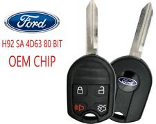 New 4 Button Remote Key Cwtwb1u793 80 Bit Sa Ford Oem Chip 4d63 A Usa Seller Fits Ford