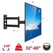 "Full Motion TV Wall Mount Bracket 32""37""42""43""46""50""55""60"" inch LCD LED OLED"