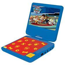 """PAW PATROL LEXIBOOK reproductor portátil de DVD Pantalla LCD 7"""" Niños Giratorio"""