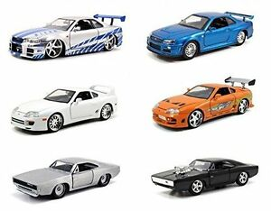 Jada 1/32 The Fast And Furious Diecast Car Model ( ONE car only, random Pick )
